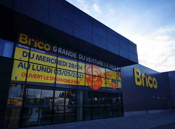 Brico opent nieuwe vestiging op nieuwe locatie in Marche-en-Famenne