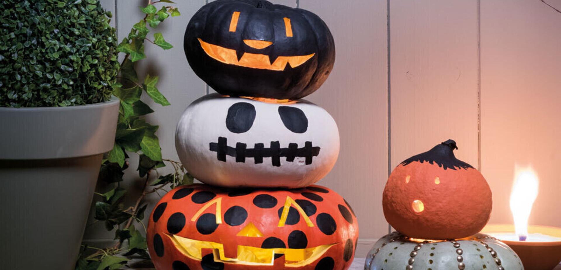 Hoe Maak Je Een Halloween Pompoen.Een Pompoen Schilderen Voor Halloween Brico