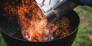 Stap voor stap: een houtskoolbarbecue aansteken