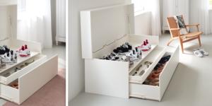 Réalisez une boîte à chaussures XXL