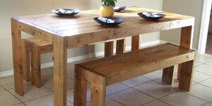 Réaliser une table à manger XL