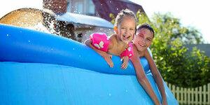 Een opzetzwembad in je tuin? Vaarwel hete zomers!