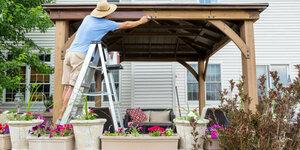 Je terrasoverkapping schoonmaken én beschermen? Da's slim!