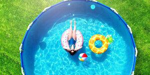 Een opzetzwembad plaatsen: stap voor stap