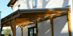 Een houten overkapping maken: stap voor stap