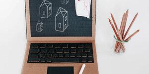 Réalisez un ordinateur portable en carton