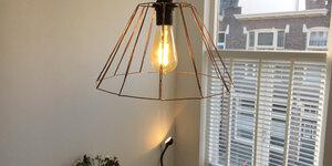 Industriële lamp maken (ontwerp door Bas Berrevoets)