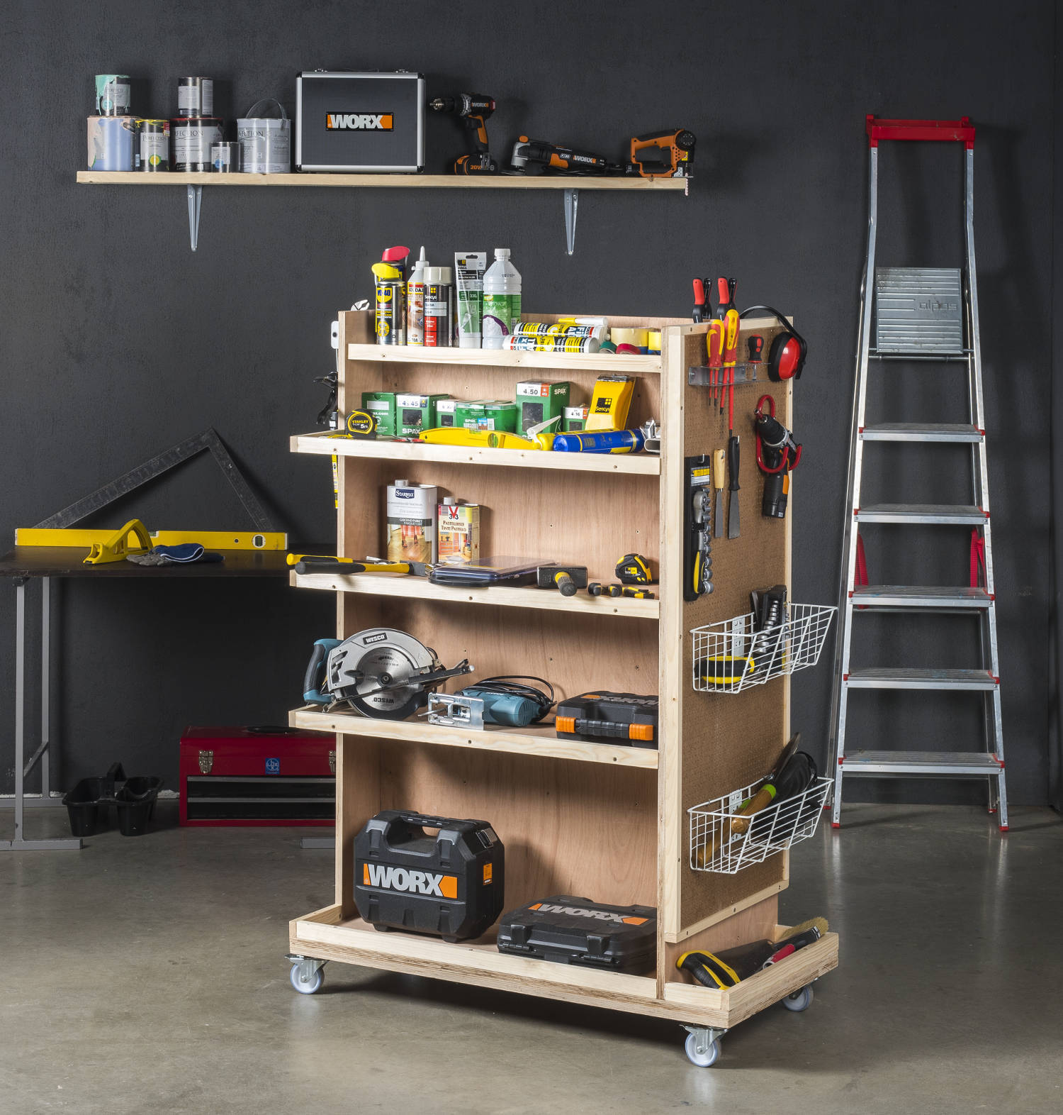 Construire Un Etabli Multifonction conseils pour construire un établi en bois - pour les makers