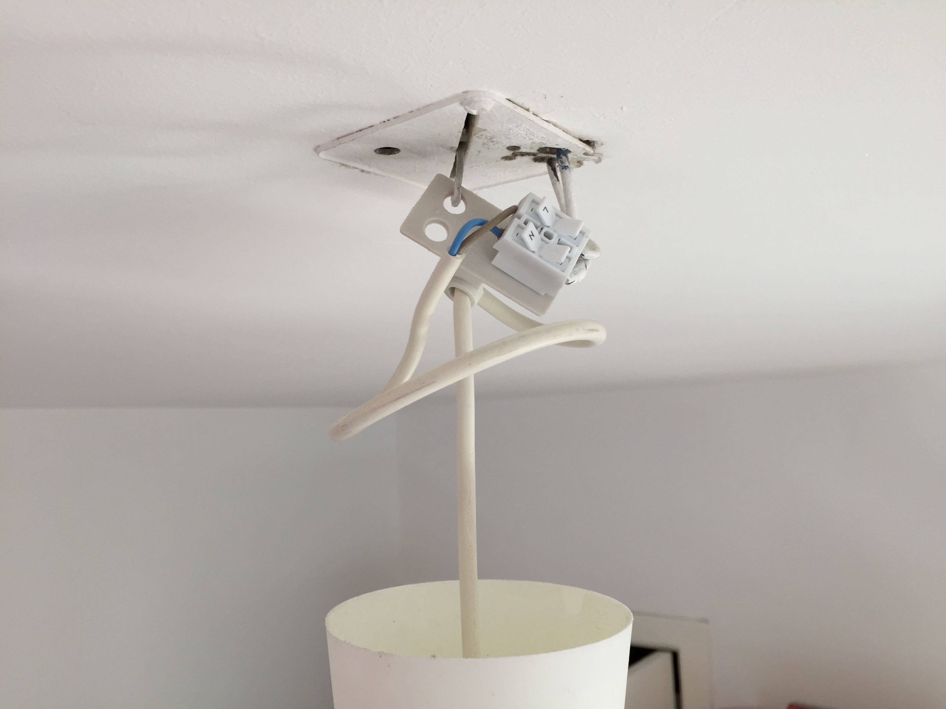 lamp ophangen - brico | voor de makers