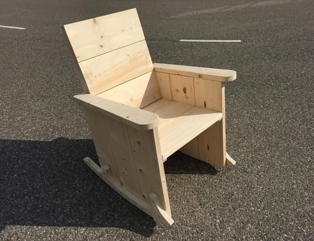 Bouwtekening Houten Schommelstoel.Een Schommelstoel Maken Brico Voor De Makers