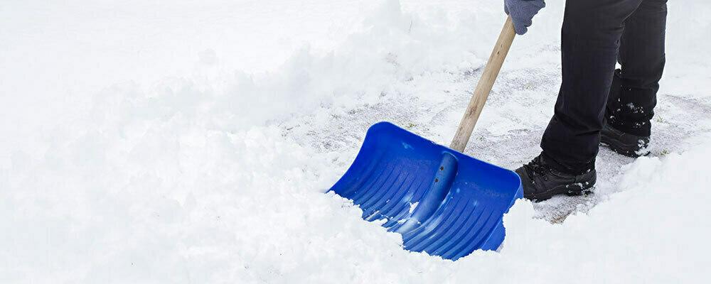 Pelle à neige chez Brico