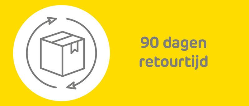 90 dagen retourtijd