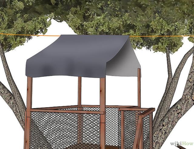 Bekend Bouw je eigen boomhut - Brico | Voor de makers #AU16