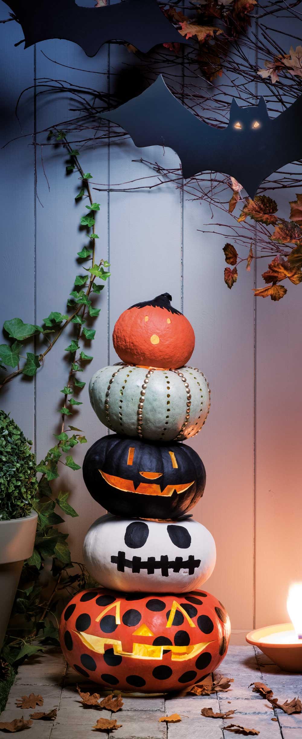 Pompoen En Halloween.Een Pompoen Schilderen Voor Halloween Brico