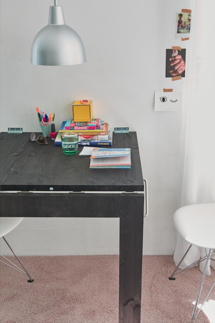 Bekend Een opklapbare (spiegel)tafel maken - Brico   Voor de makers OR45